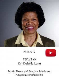 20160512 – TEDx Talk – Dr. Deforia Lane