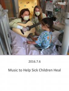 20160706 – Music to help sick children heal